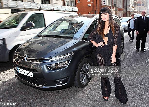 Foxes is driven by Citroen, Official Car Supplier to the Q Awards 2014 , to this year's awards at Grosvenor House, on October 22, 2014 in London,...