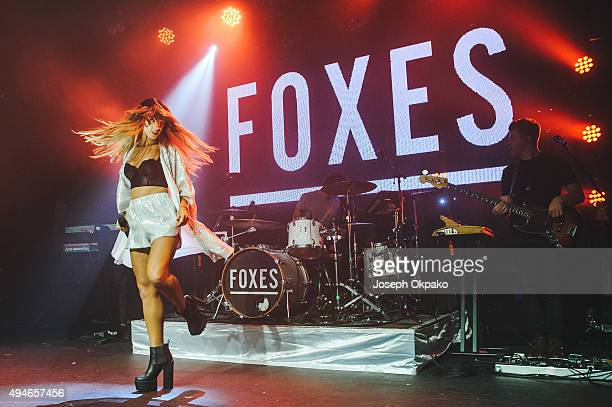 Foxes performs at Heaven on October 27, 2015 in London, England.