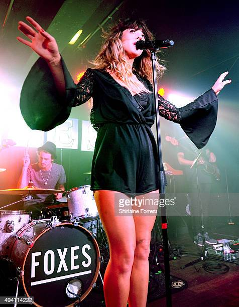 Foxes performs at Manchester Academy on October 24, 2015 in Manchester, England.