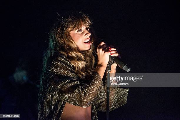 Foxes performs at O2 ABC Glasgow on October 22, 2015 in Glasgow, Scotland.
