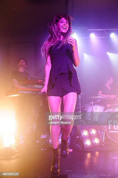 Foxes performs at Oslo on July 29, 2015 in London, England.