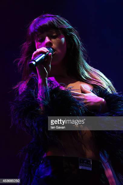 Foxes' performs on Day 1 of the V Festival at Hylands Park on August 16, 2014 in Chelmsford, England.
