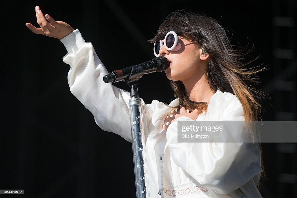 Foxes performs onstage during day 2 of Fusion Festival 2014 on August 31, 2014 in Birmingham, England.