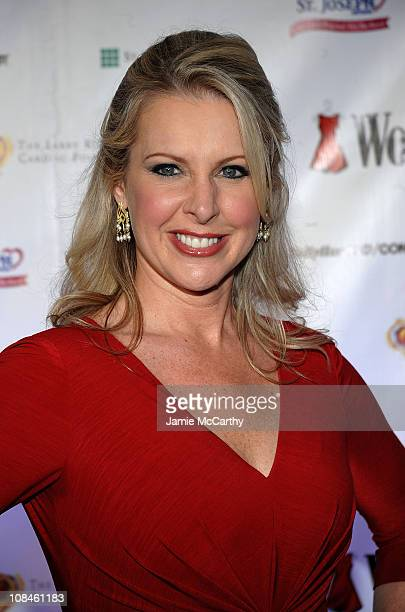 Fox's Cheryl Casone attends the 6th Annual Woman's Day Red Dress Awards at the Allen Room in Frederick P Rose Hall Jazz at Lincoln Center on February...