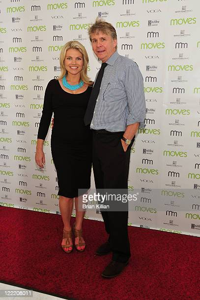 Fox's Heather Nauert and EIC of Moves Magazine Richard Ellison attend Moves Summer 2010 at Studio 450 on July 6 2010 in New York City