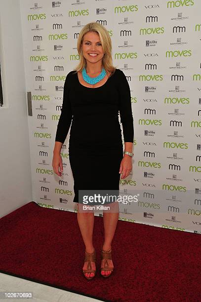 Fox's Heather Nauert attends Moves Summer 2010 at Studio 450 on July 6 2010 in New York City