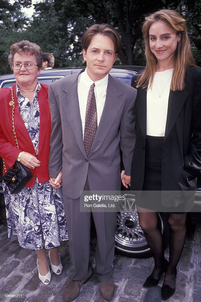 ¿Cuánto mide Michael J Fox? - Altura - Real height Foxs-mother-michael-j-fox-and-tracy-pollan-during-party-for-motion-picture-id109581211