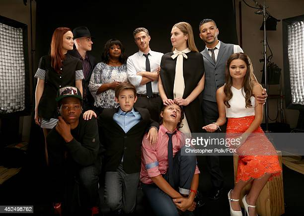 Fox's 'Red Band Society' actors Rebecca Rittenhouse Charlie Rowe Octavia Spencer Dave Annable Zoe Levin Wilson Cruz Ciara Bravo Brian Bradley Griffin...