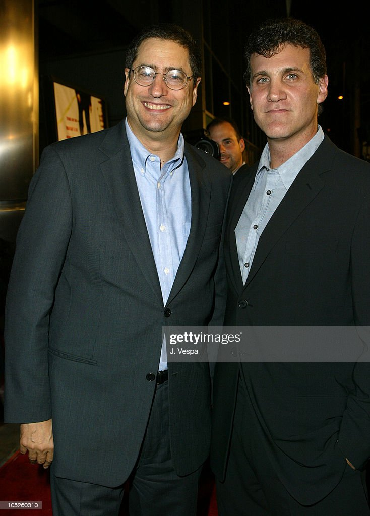 Fox's Tom Rothman and Gary Fleder, Director during 'Runaway Jury' Los Angeles Premiere - Red Carpet at Cinerama Dome in Hollywood, California, United States.