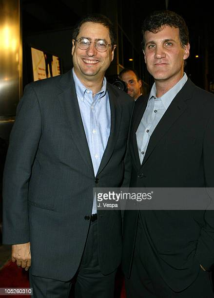 Fox's Tom Rothman and Gary Fleder Director during 'Runaway Jury' Los Angeles Premiere Red Carpet at Cinerama Dome in Hollywood California United...