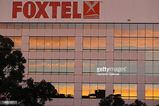 Foxtel headquarters are seen at North Ryde on June 20 2012 in Sydney Australia News Limited today announced the $197 Billion offer for Consolodated...