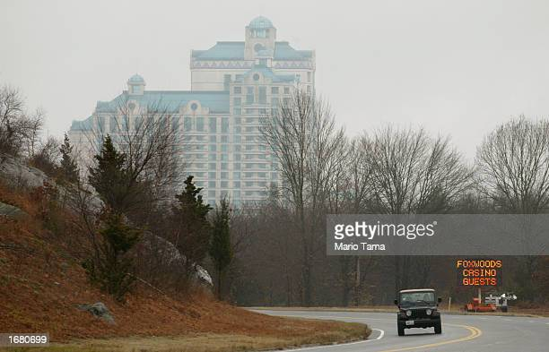 Foxwoods Resort Casino is shown November 22 2002 in Mashantucket Connecticut Foxwoods Resort Casino is owned and operated by the Mashantucket Pequot...