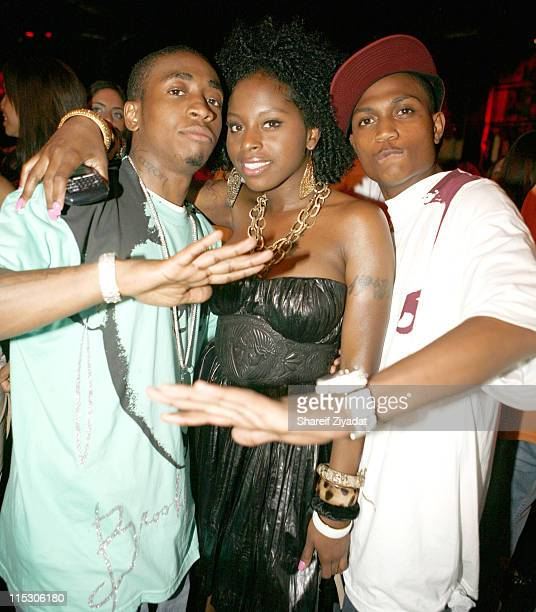 Foxy Brown and Guests during JayZ Celebrates the 10th Anniversary of Reasonable Doubt Inside at Rainbow Room in New York United States