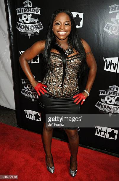 Foxy Brown attends the 2009 VH1 Hip Hop Honors at the Brooklyn Academy of Music on September 23 2009 in the Brooklyn borough of New York City