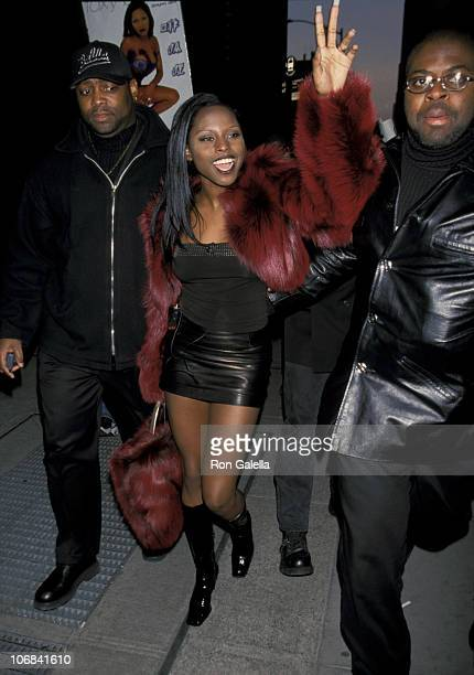 Foxy Brown during Foxy Brown Signs Her CD Chyna Doll at Coconuts in New York City January 26 1999 at Coconuts in New York City New York United States