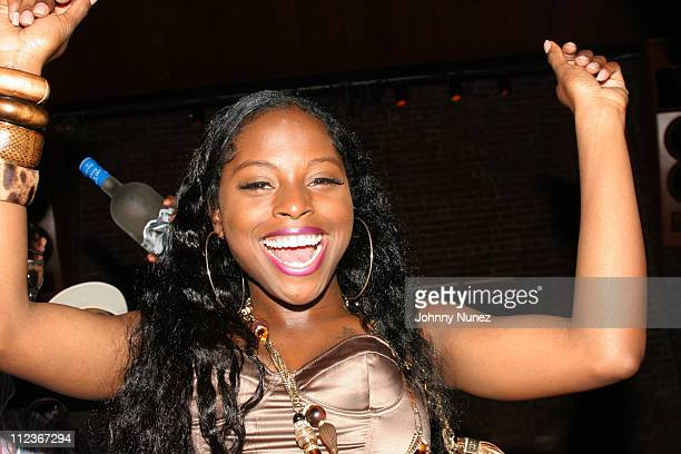 Foxy Brown during Foxy Brown's Birthday Party September 25 2005 at Ruby Falls in New York New York United States