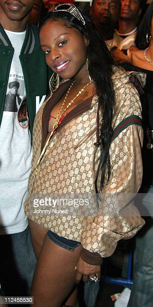 Foxy Brown during JayZ's Best Of Both Worlds New York Performance Backstage at Madison Square Garden in New York City New York United States