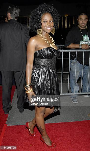 Foxy Brown during JayZ's Concert at Radio City Music Hall Afterparty Arrivals June 25 2006 at The Rainbow Room in New York City New York United States