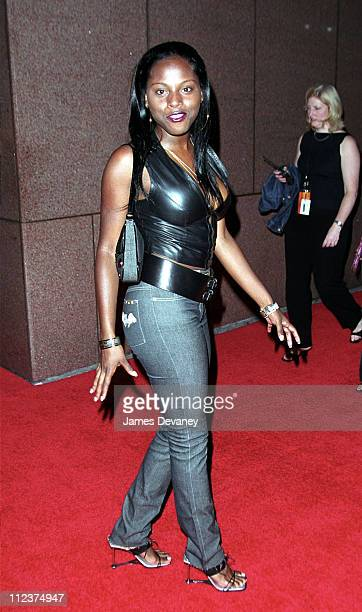 Foxy Brown during Michael Jackson's 30th Anniversary Celebration at Madison Square Garden Arrivals at Madison Square Garden in New York NY United...