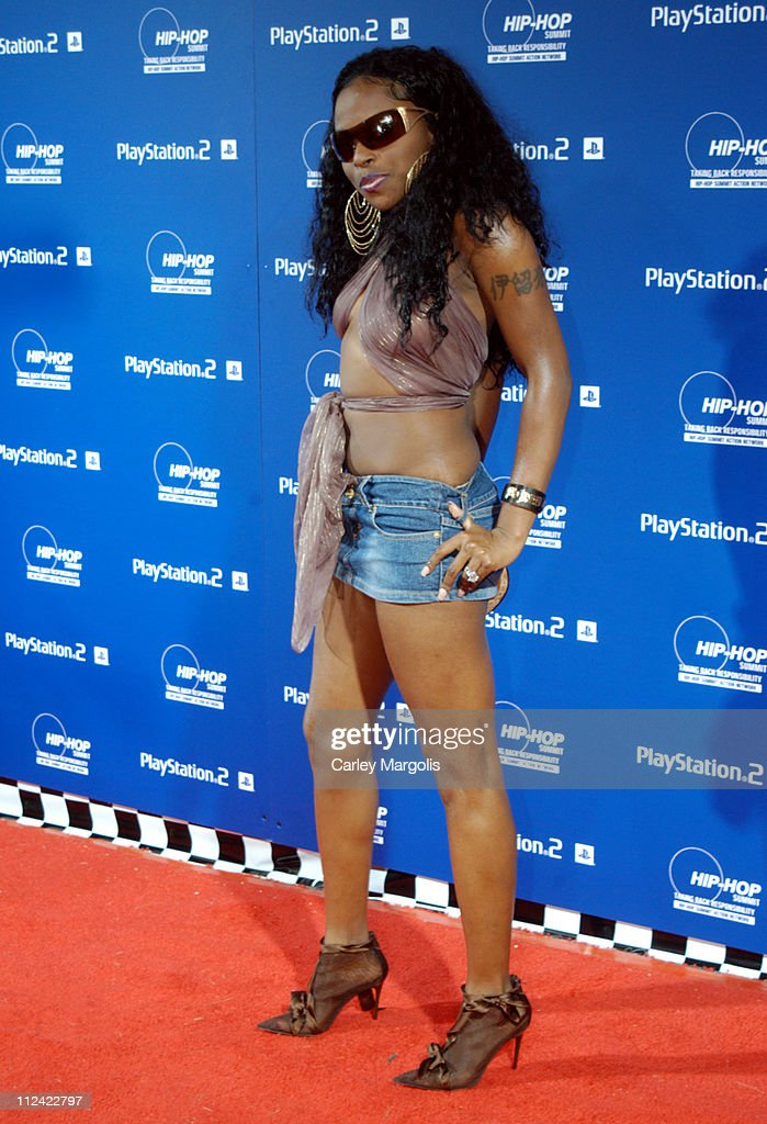 Foxy Brown during Sony Playstation 2 Teams with Russel Simmons and the Hip-Hop Summit Action Network to 'Race to the Polls' - Arrivals at Hammerstein Ballroom in New York City, New York, United States.