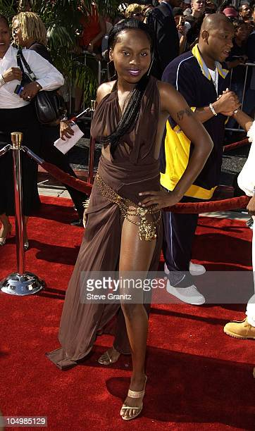 Foxy Brown during The 2nd Annual BET Awards Arrivals at The Kodak Theater in Hollywood California United States