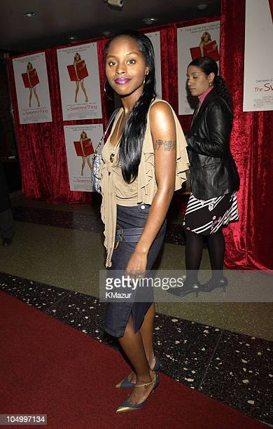 Foxy Brown during The Sweetest Thing After Party at Roseland in New York City New York United States