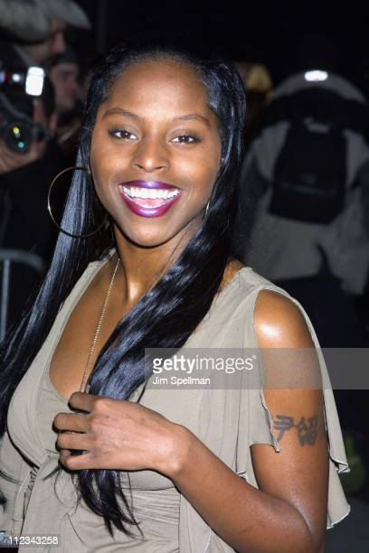 Foxy Brown during The Sweetest Thing Premiere at Loews Lincoln Square in New York City New York United States