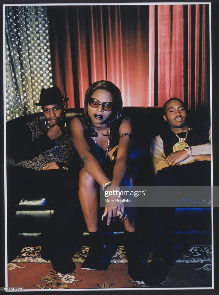 Foxy Brown, Nas and AZ