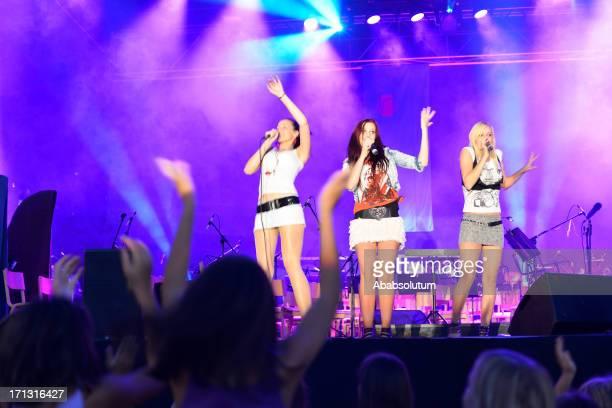 Foxy Teens Singing in Nova Gorica Slovenia