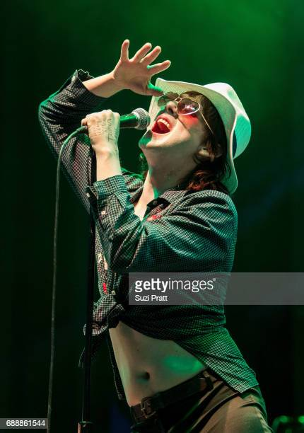 Foxygen performs at the Sasquatch Music Festival at Gorge Amphitheatre on May 26 2017 in George Washington