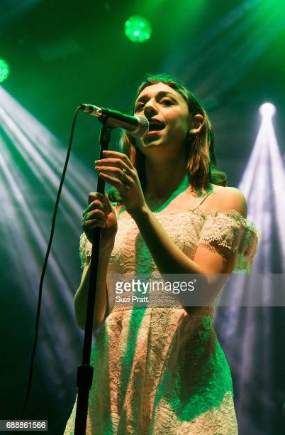 Foxygen performs at the Sasquatch! Music Festival at Gorge Amphitheatre on May 26, 2017 in George, Washington.