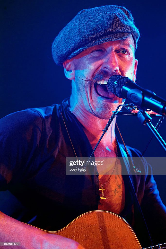 Foy Vance performs in concert at the Murat Egyptian Room on January 26, 2013 in Indianapolis, Indiana.