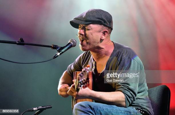 Foy Vance performs on stage at the Union Chapel on November 2 2017 in London England