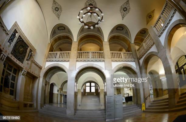 Foyer Neues Rathaus Markt Chemnitz Sachsen Deutschland