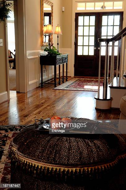 foyer of home - nook architecture stock pictures, royalty-free photos & images