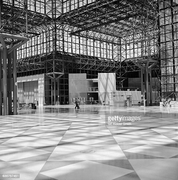 Foyer of the Jacob K Javits Convention Center