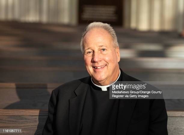Fr. Christopher Smith, the Episcopal Vicar to Christ Cathedral, at the newly remodeled Christ Cathedral in Garden Grove on Monday, July 8, 2019. The...