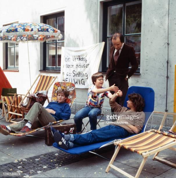 Für die Erhaltung ihrer Siedlung im Hungerstreik Rosel Zech Ralf Potz Nikolaus Faryla Beate Finckh Regie Stephan Meyer 1981