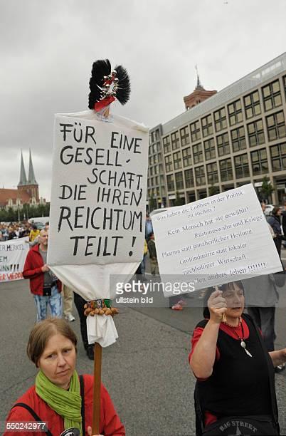 Für eine Gesellschaft die ihren Reichtum teilt Demonstration unter dem Motto WIR ZAHLEN NICHT FÜR EURE KRISE gegen die geplanten Sparmaßnahmen der...