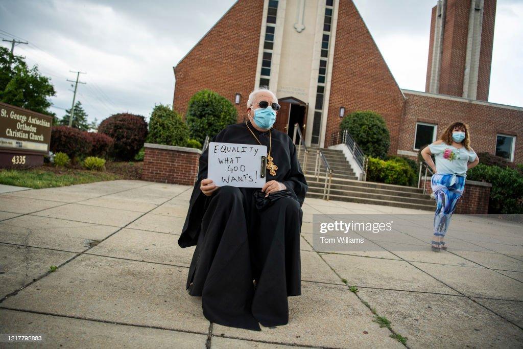 16th Street Demonstration : News Photo