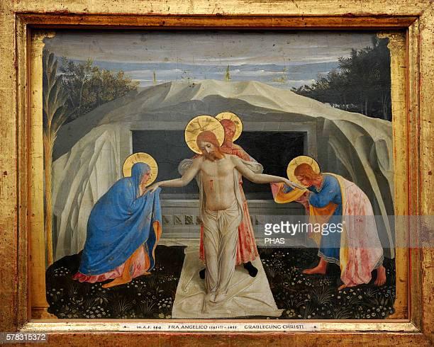 Fra Angelico Italian Renaissance painter Entombment of Christ About 14381440 Alte Pinakothek Munich Germany