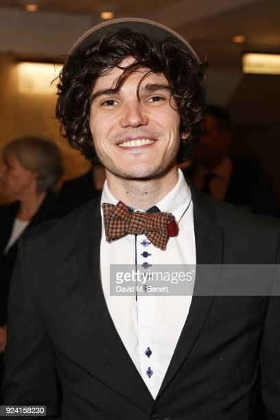 Fra Fee attends the 18th Annual WhatsOnStage Awards at the Prince Of Wales Theatre on February 25 2018 in London England