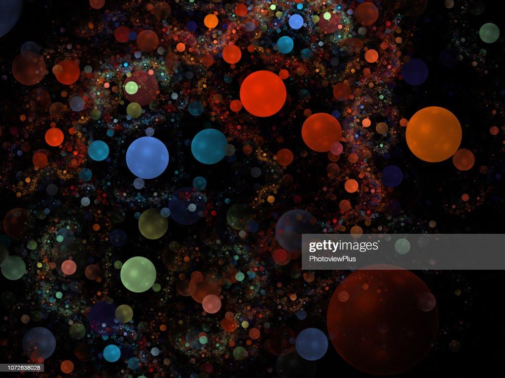 Fractal: Bubble Universe : Stock Photo
