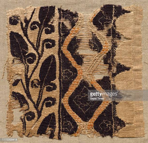 Fragment of a Large Cloth, Perhaps a Pallium, 400s - 500s. Egypt, Byzantine period, 5th - 6th period. Tabby weave, inwoven tapestry ornament; wool...