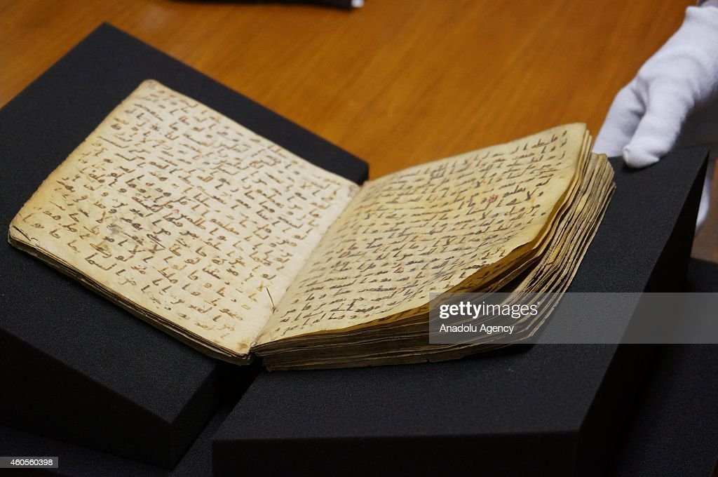 14 centuries-old fragment of The Holy Quran being kept in Germany : News Photo