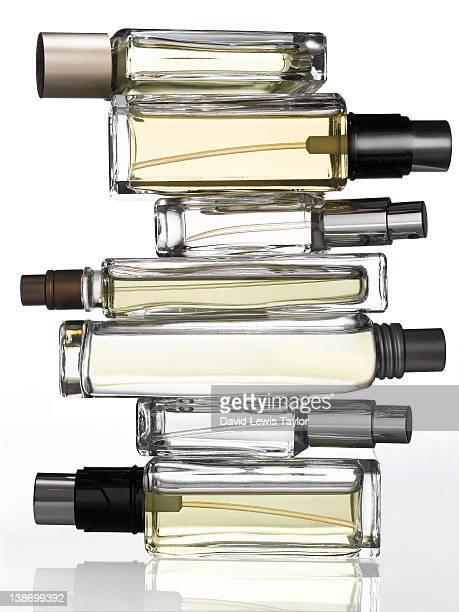 fragrance bottles - profumato foto e immagini stock