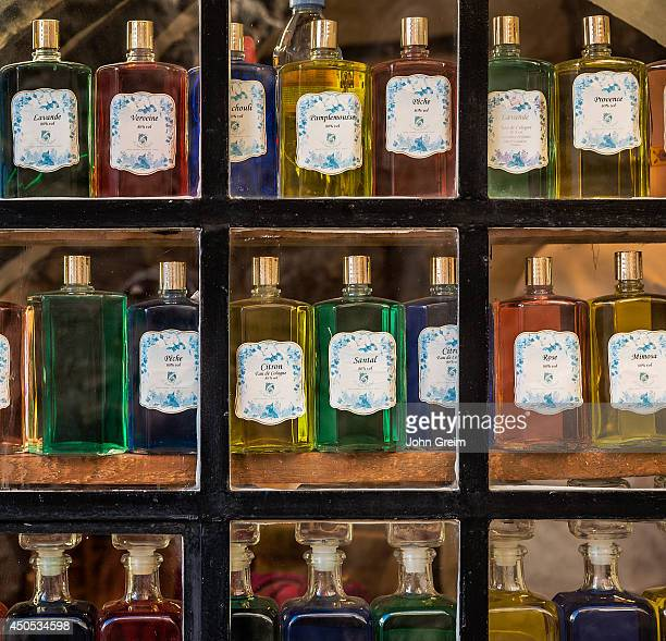 Fragrance compound in a perfumery shop