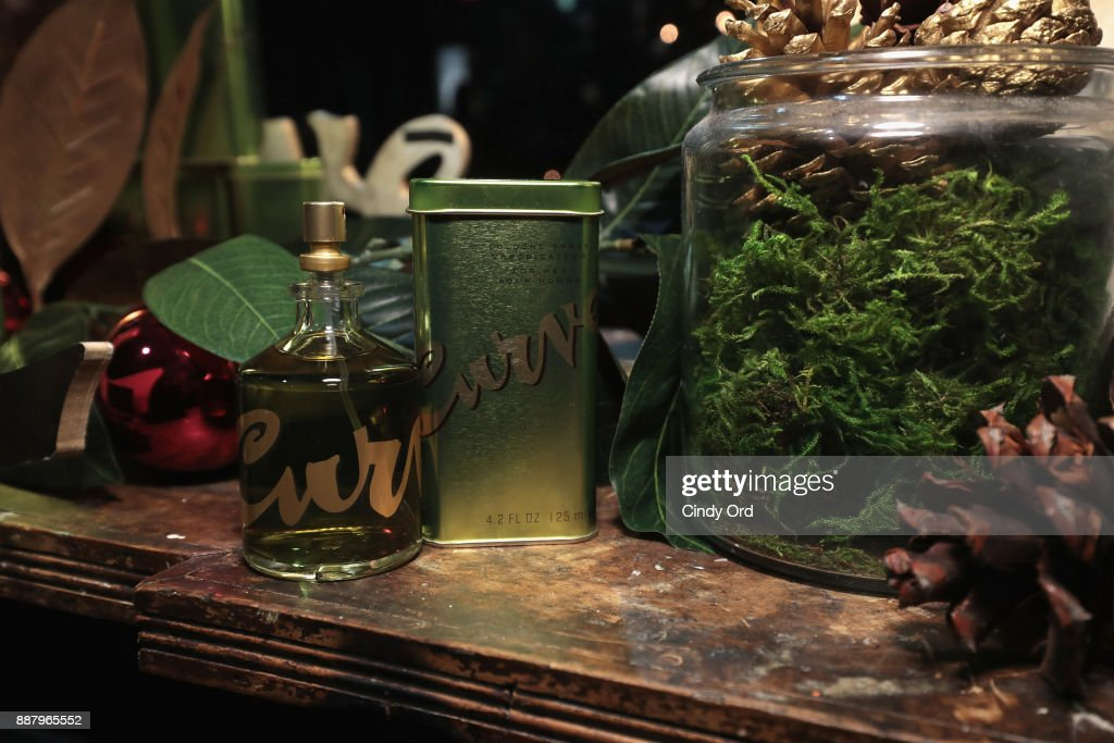Fragrance on display during the Curve Fragrances Holiday Party hosted by actress & model Karrueche Tran at Arlo NoMad on December 7, 2017 in New York City.