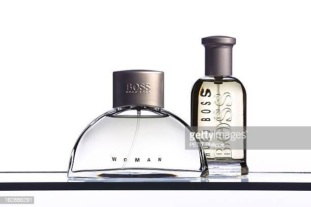 Fragrances Duo Flacon de parfum HUGO BOSS pour homme et flacon de parfum BOSS WOMAN pour femme