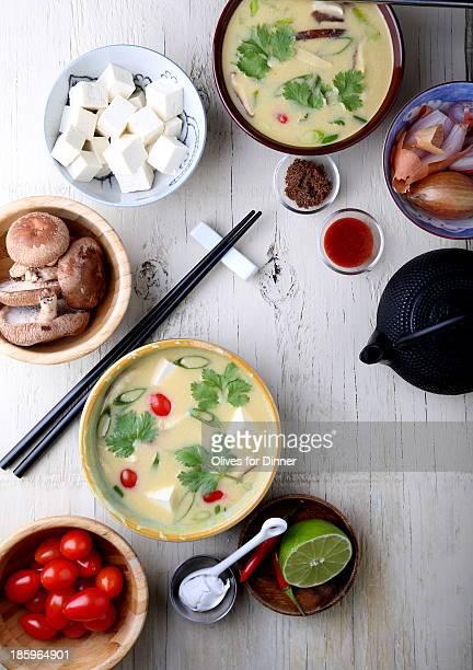 Fragrant Coconut Soup